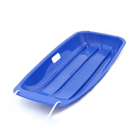 Plastic Snow Sled Boat Board Sledge Skiing Toboggan Outdoor Kid Children Gifts - image 4 de 5