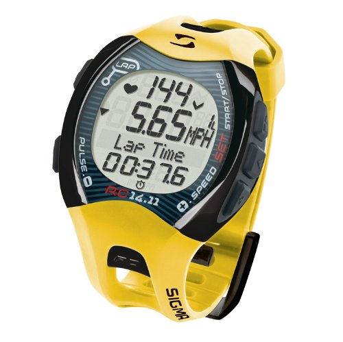 Sigma RC 14.11 Running Computer Sports Heart Rate Monitor Digital Wrist Watch