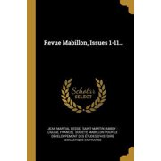 Revue Mabillon, Issues 1-11... Paperback