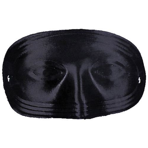 Half Mask without Eye Holes Adult Halloween Accessory