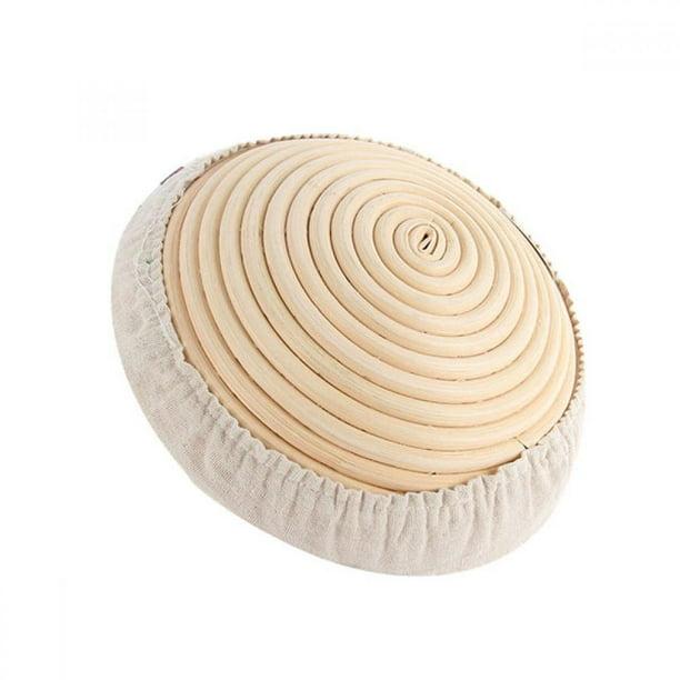 Details about  /Round Oval Bread Proofing Proving Basket Rattan Banneton Brotform Dough Organize