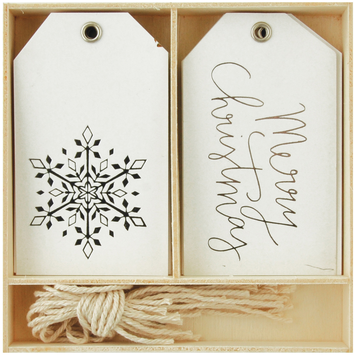 Lucky Dip Gift Tags 12/Box-Merry Christmas