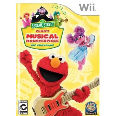 Sesame Street: Elmo'S Musical Monsterpiece (Wii)