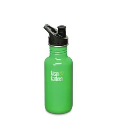Klean Kanteen Classic Stainless Steel Bottle with Sport Cap, Organic Garden -