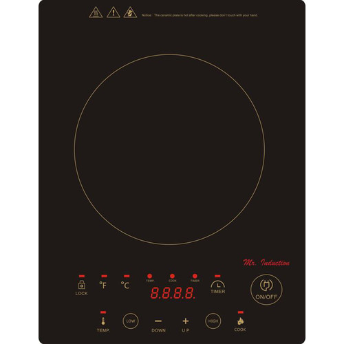 Sunpentown 12'' Induction Cooktop with 1 Burner by SPT