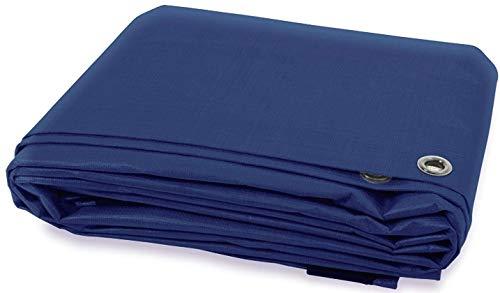 Blue E/&K Sunrise 12 x 12 Finished Size General Multi-Purpose Tarpaulin 5-mil Poly Tarp