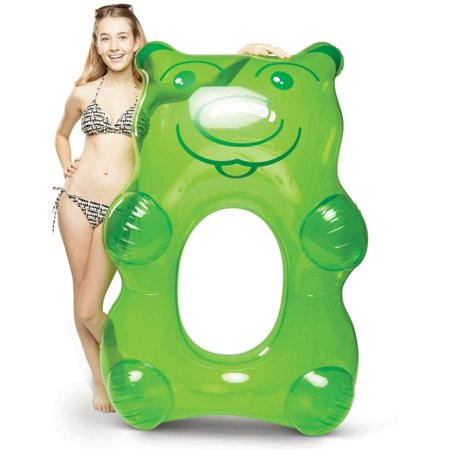 BigMouth Inc Giant Green Gummy Bear Pool Float