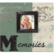 "Memories Post Bound Scrapbook with Window, 12"" x 12"""