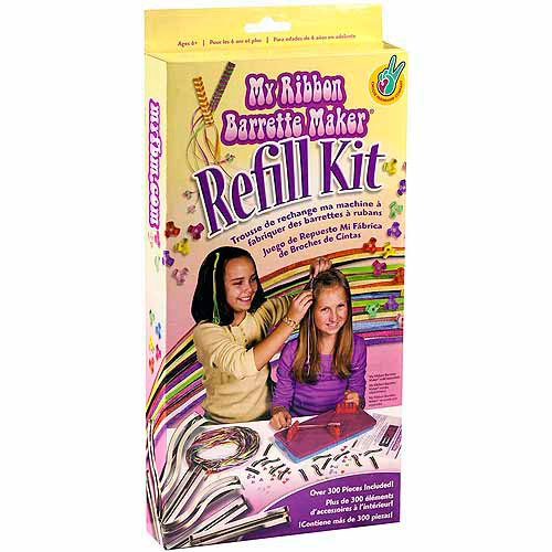 My Ribbon Barrette Maker Refill Kit