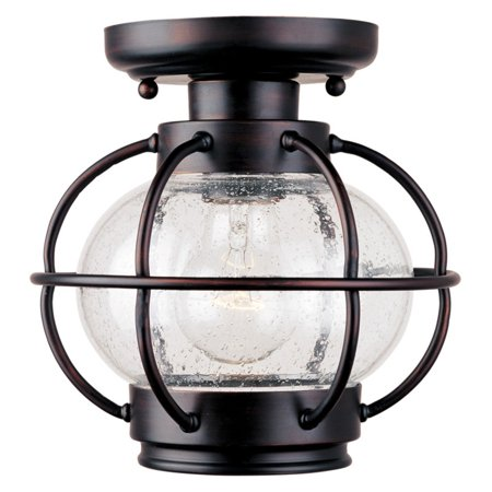 Maxim Portsmouth Outdoor Ceiling Light - 9H in. Oil Rubbed