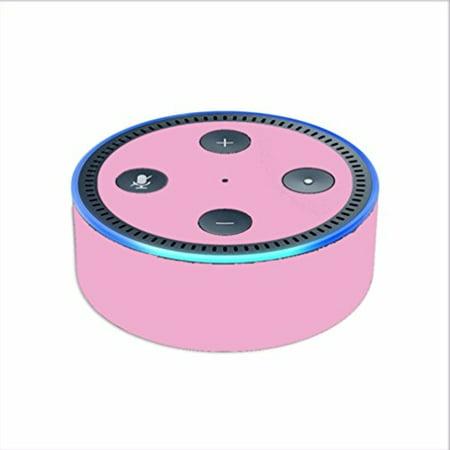 Skin Decal Vinyl Wrap For Amazon Echo Dot 2  2Nd Generation    Subtle Pink