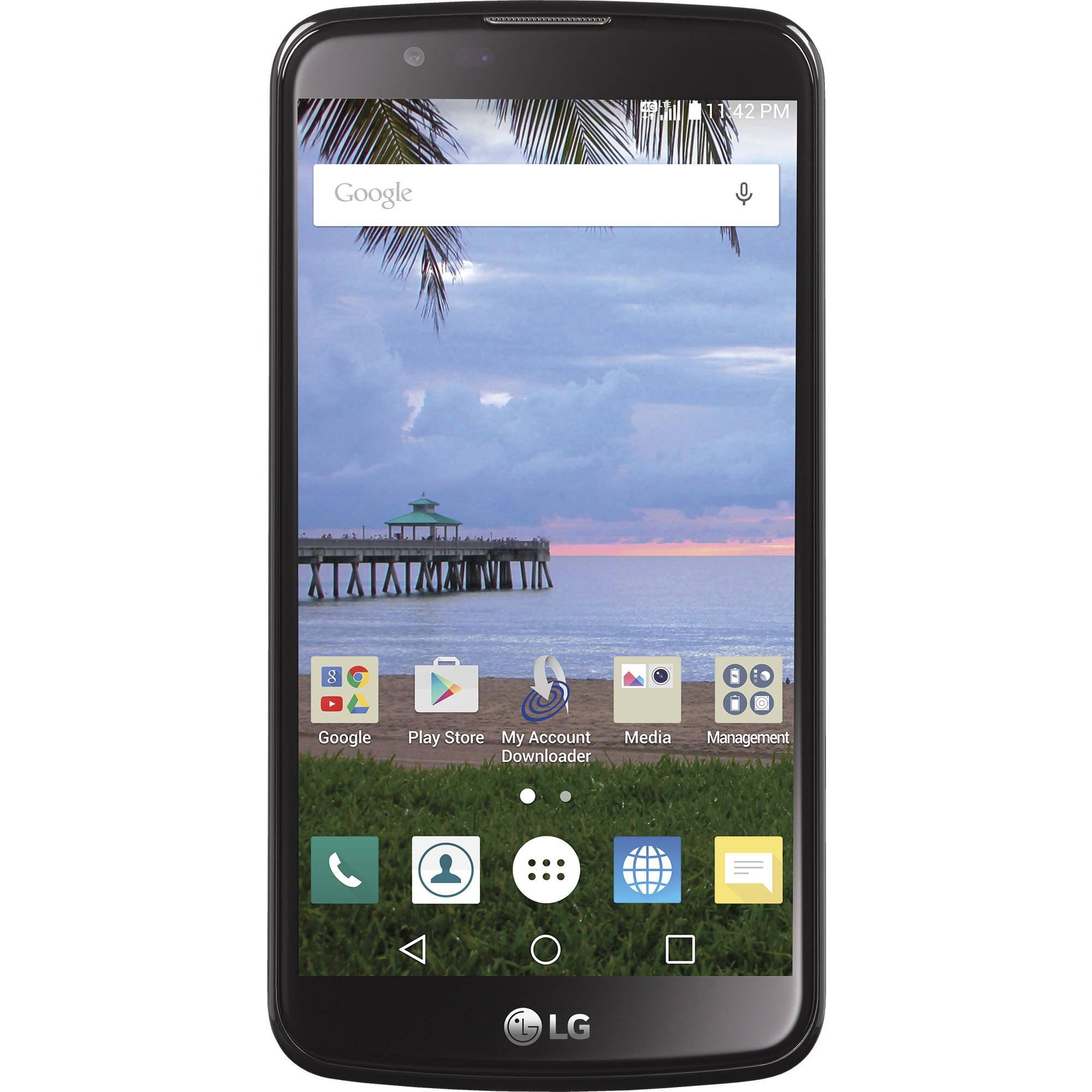 Straight Talk LG Premier 4G LTE CDMA Prepaid Smartphone
