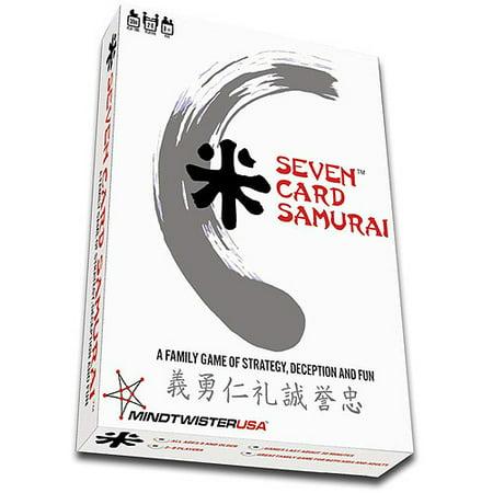 Mindtwister Seven Card Samurai Game