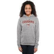 Charleston Cougars Women's Proud Mascot Pullover Hoodie - Ash -