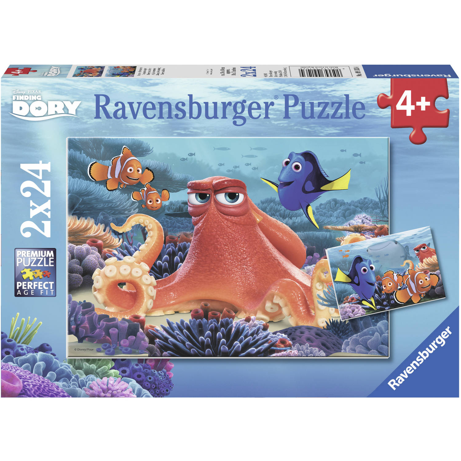 Ravensburger Disney Finding Dory Set of 2 Puzzles in a Box