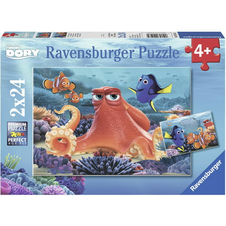 Ravensburger Disney Finding Dory Set of 2 Puzzles in a Box ()