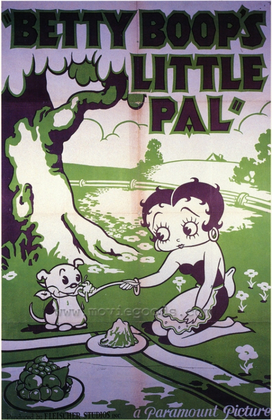 Click here to buy Betty Boops Little Pal Movie Poster Print (27 x 40) by Pop Culture Graphics.