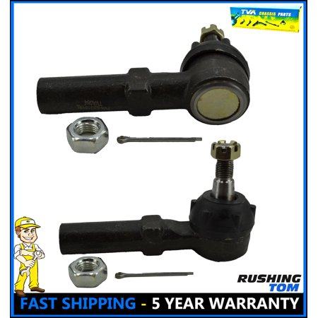 New Set of 2 Tie Rod Ends Front Outer Exterior Outside Ford Windstar 95-03