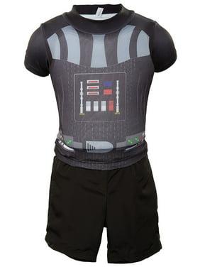 Deluxe Float Shorty Set - Swimways Star Wars Darth Vader M/L 3-4 yrs UPF50+ 27070-2