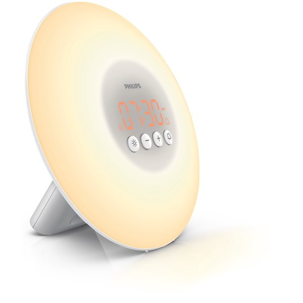 Philips Wake-Up Light with Sunrise Simulation Alarm Clock. Click through to find Humor, Gifts for Mamas and Grads + Books to Keep You Company!