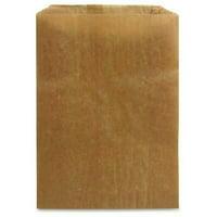 "Hospeco Receptacle Liners - 7.50"" Width x 10.25"" Length x 3.50"" Depth - Kraft Paper - 500/Carton - Sanitary Napkin"