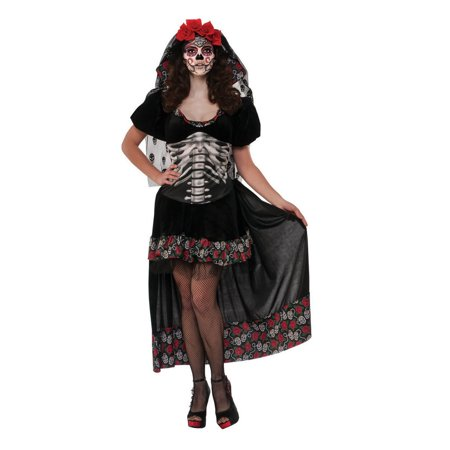 Halloween Queen Of The Dead Adult Costume - Looking Dead For Halloween