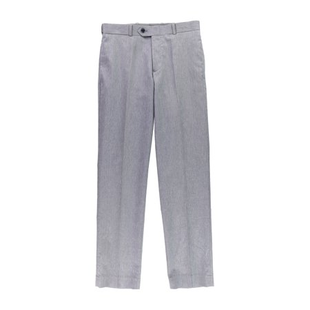 bar III Mens Heather Slim Fit Dress Slacks gray
