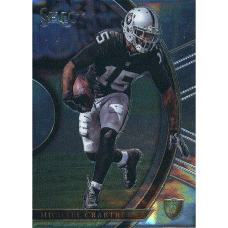 Michael Crabtree Football - 2017 Panini Select #78 Michael Crabtree Oakland Raiders Football Card