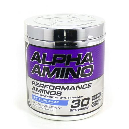 Cellucor Alpha Amino Acid Icy Blue Razz Endurance Muscle Soreness G4 BCAA Performance