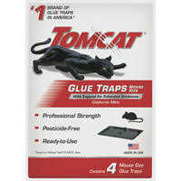 Tomcat Glue Traps Mouse Size with Eugenol for Enhanced Stickiness