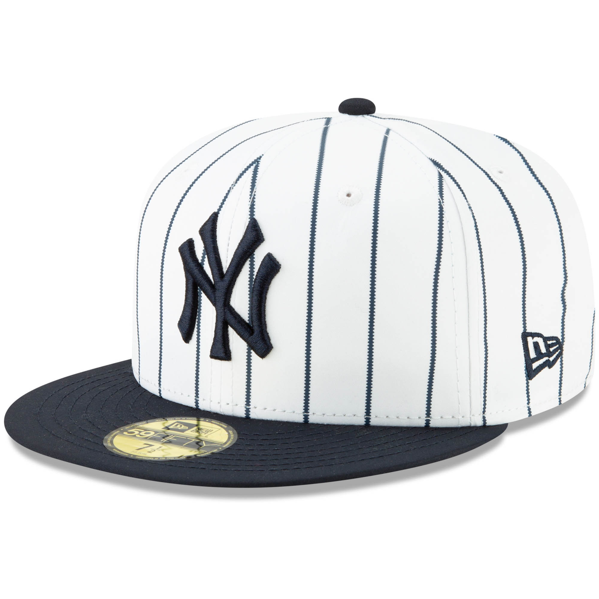 New York Yankees New Era Alternate Logo 59FIFTY Fitted Hat - White