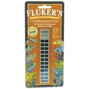 Fluker's Flat Gauge Thermometer
