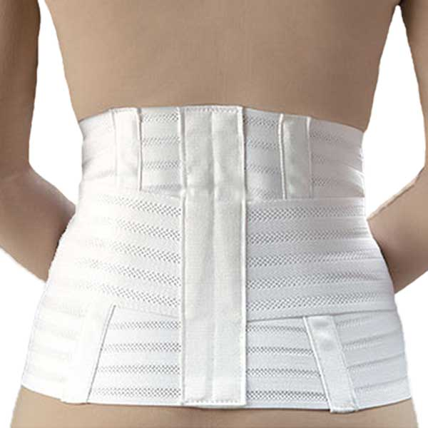 FLA Ventilated Lumbar Support w/Abdominal Belt-Small