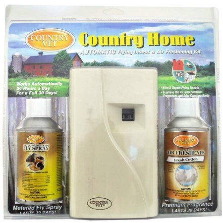Country Vet Automatic Flying Insect & Air Freshner Kit ()