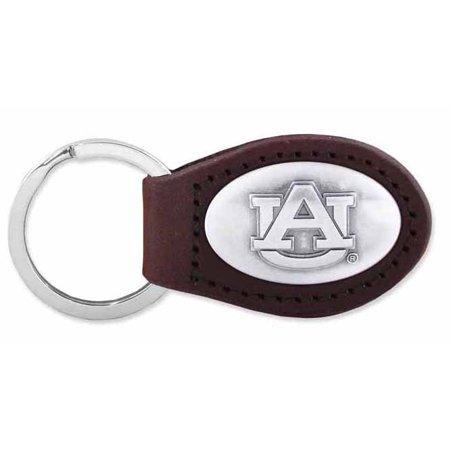 Auburn Leather Key Fob (Brown)