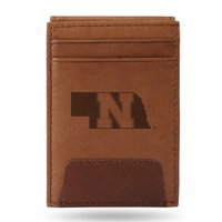 Nebraska Cornhuskers Sparo Leather Front Pocket Wallet - No Size
