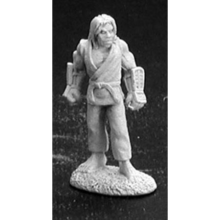 Reaper Miniatures Buck Ronan, Monk #02852 Dark Heaven Legends Unpainted Metal