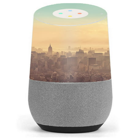 skin decal vinyl wrap for google home stickers skins cover new york city. Black Bedroom Furniture Sets. Home Design Ideas