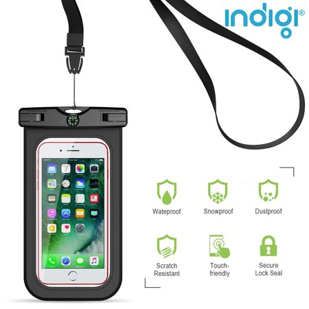 Beach Vacation Must Have! - Sand/Waterproof Case for Phones [Keep valuables & SmartPhone Safe Dry] - image 2 of 4