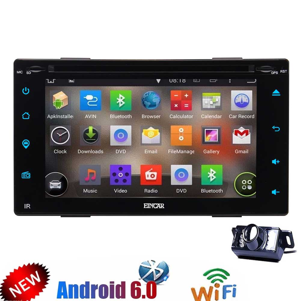 Android 6.0 GPS Car Stereo with touchscreen Double Din 6....