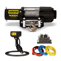 Deals on Champion Power Equipment 4000-lb. ATV/UTV Winch Kit
