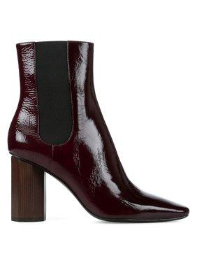 Laila Shine Leather Booties