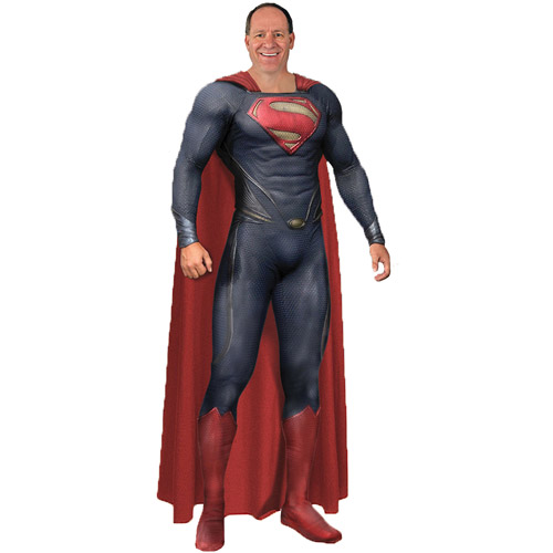 Superman Grand Heritage Adult Halloween Costume  sc 1 st  Walmart & Superman Grand Heritage Adult Halloween Costume - Walmart.com