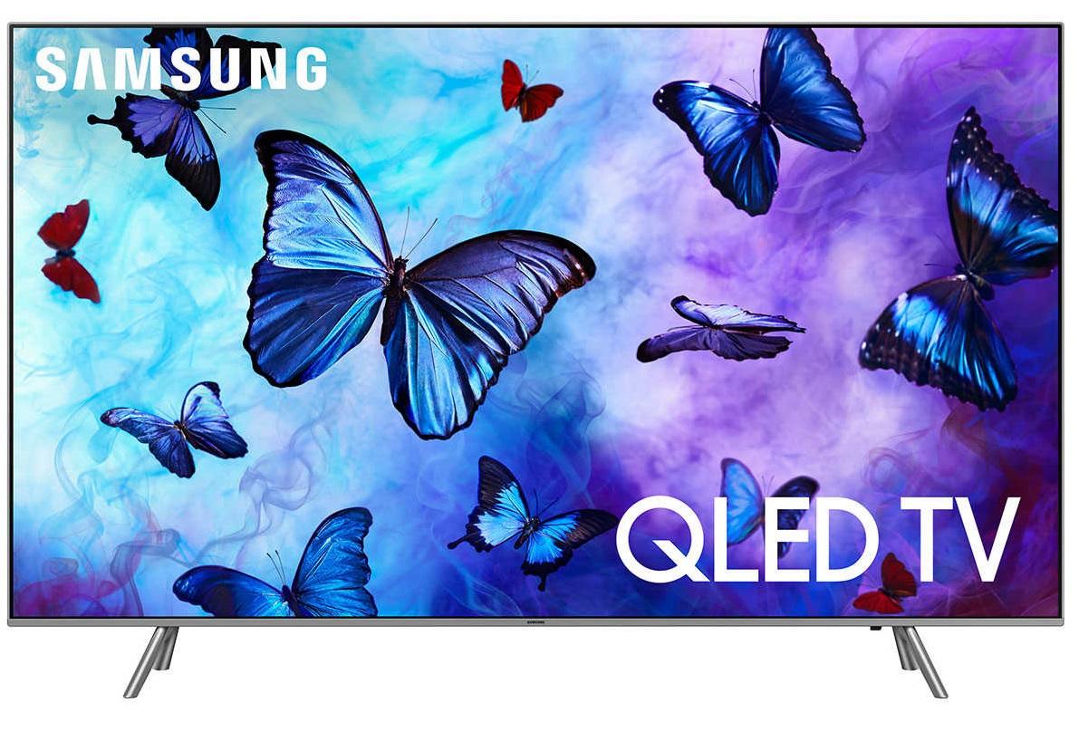 "Refurb Samsung QN55Q6FNFXZA 55"" 4K Smart QLED UHDTV"