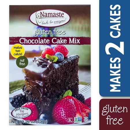 Foods Gluten Free Chocolate - Namaste Foods Gluten Free Chocolate Cake Mix, 26-Ounce