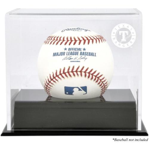 Texas Rangers Fanatics Authentic Baseball Cube Logo Display Case - No Size