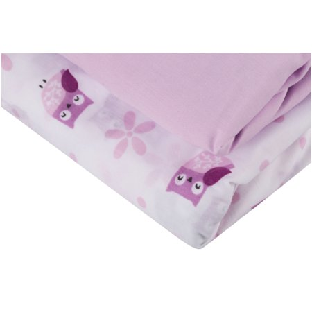Bedtime Originalsac Lavender Woods Collection Crib Sheets 2 Pc Bag