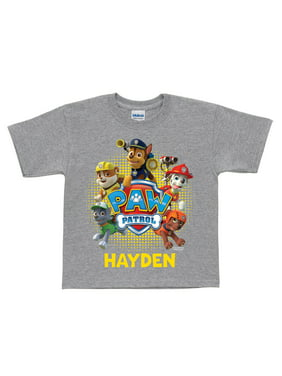 Personalized PAW Patrol Puptastic Grey Toddler T-Shirt