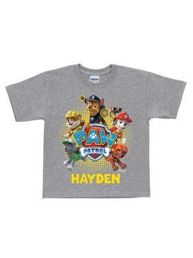 Product Image Personalized PAW Patrol Puptastic Grey Toddler T-Shirt a3ed8ea84a5