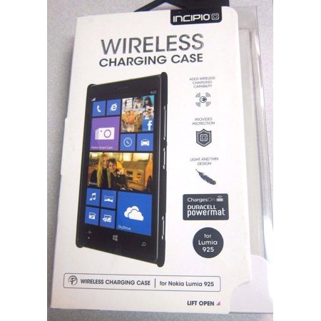 100% authentic e3a39 8ea42 Nokia Lumia 925 Wireless Charging Case - Black- by Incipio